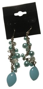 Creativedesigndbyappealinglady Light Blue gemstones Drop Earrings That Dangle