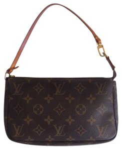 Louis Vuitton Pochette Monogram Clutch Accessory Shoulder Bag