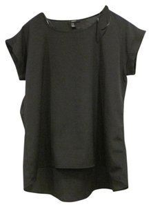 Forever 21 Work Solid Top Black