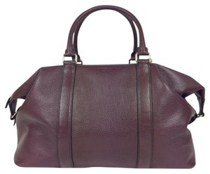 Coach Burgundy Duffle F93596 Leather oxblood Travel Bag