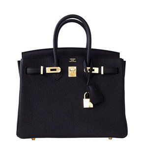 Hermès Hermes Birkin 25 Satchel in Black