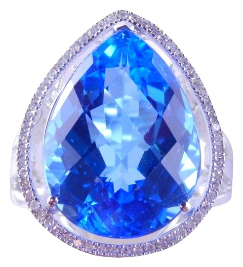 Preload https://item1.tradesy.com/images/white-natural-blue-topaz-pear-shape-whalo-around-ring-2041985-0-0.jpg?width=440&height=440