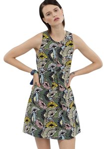 Rachel Roy short dress Ochre Combo 60's Mini Floral Print on Tradesy
