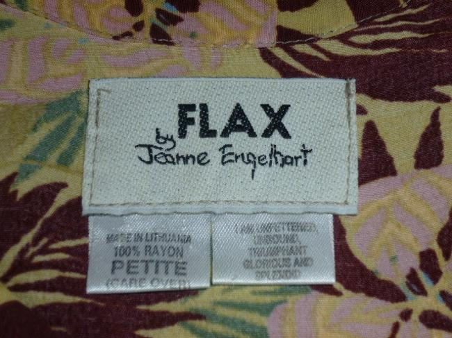 Flax by Jeanne Englehart Top Multicolored