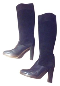 Chloé Leather Chloe Knee High Black Boots