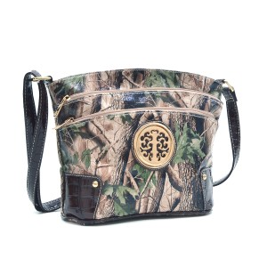 Realtree Classic Bags Crossbody The Treasured Hippie Camouflage Army Black Messenger Bag