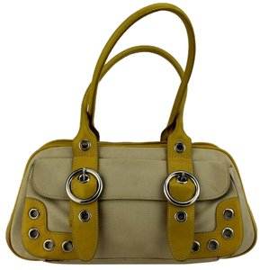 Preston & York Satchel in Beige, Yellow