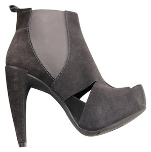 Pedro Garcia Suede Charcoal Grey Boots