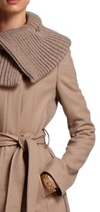 Anthropologie Jackie-o Stretch Side Panels Pea Coat