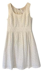 Ann Taylor LOFT short dress Off White on Tradesy