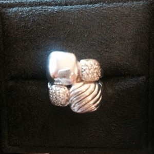 David Yurman David Yurman Chiclet Mosaic Ring