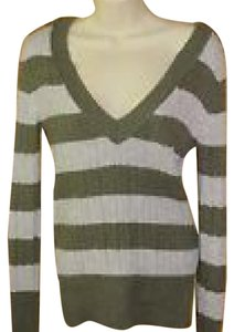 American Eagle Outfitters Striped Longsleeve Knit Sweater