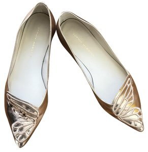 Sophia Webster Pink gold Flats