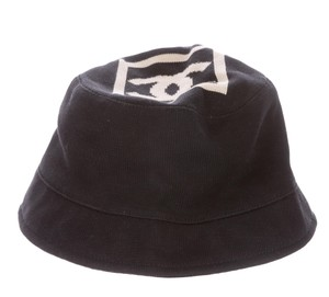 Chanel Black, white Chanel Sport interlocking CC bucket hat