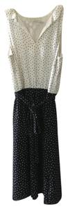 Ann Taylor LOFT Polka Dot Business Casual Professional Dress