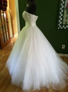 Oleg Cassini Oleg Cassini Cu099 Wedding Dress Ball Gown Wedding Dress