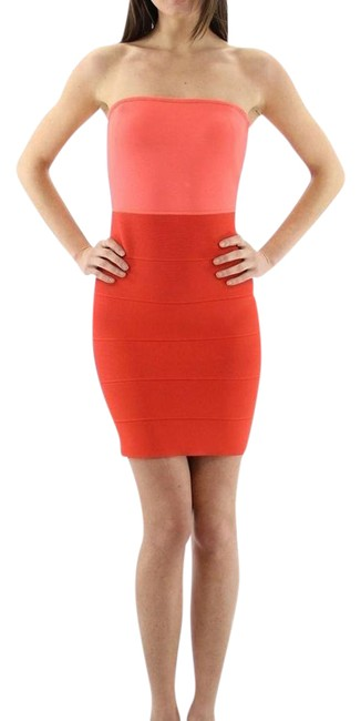 Preload https://img-static.tradesy.com/item/20421274/bcbgmaxazria-coral-alyona-bandage-above-knee-night-out-dress-size-8-m-0-1-650-650.jpg