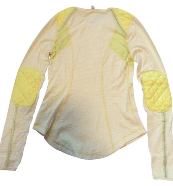 Item - Yellow and Beige Ice Queen Activewear Top Size 8 (M, 29, 30)