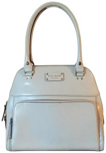 Kate Spade Leather Classic Investment Piece Tote in Ivory