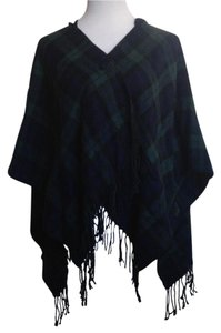 Nordstrom Fringe Hem Plaid Cape