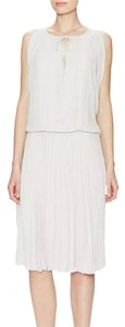 BCBGMAXAZRIA Pleated Drop Waist Dress