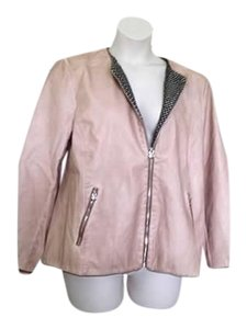 Chico's Faux Suede soft pink Jacket