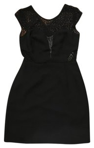 The Kooples short dress BLACK on Tradesy