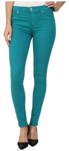 Hudson Jeans Vibrant Soft Stretchy Mid-rise Ankle Skinny Jeans-Medium Wash