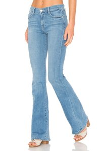 Frame Denim Bells Bellbottoms Denim Bootcut Flare Leg Jeans-Light Wash