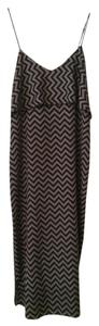 Black and Grey Maxi Dress by Glam