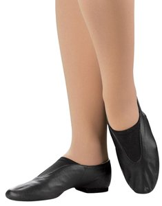 Bloch Jazz Athletic Ballet Dance Black Flats
