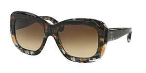 Chanel NEW Chanel 5324 Brown Gradient Tweed Oversized Sunglasses