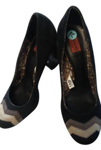 Missoni for Target Black Pumps