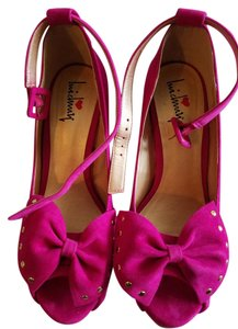 Luichiny Wedge Sandal Hot pink Wedges