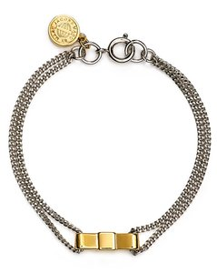 Marc Jacobs Marc by Marc Jacobs Delicate Bow Tie Bracelet