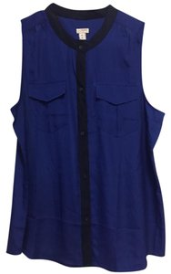 J.Crew Top Royal Blue and Navy
