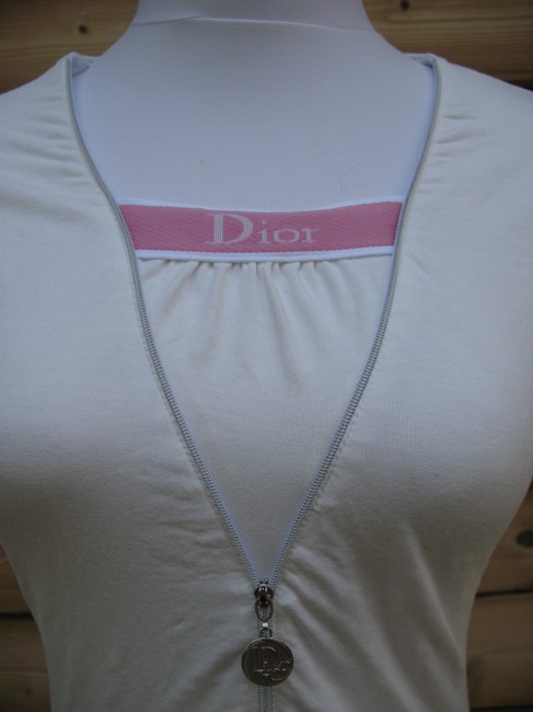 Dior T Shirt Off White Pink