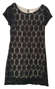 Xhilaration short dress Black Lace Feminine on Tradesy