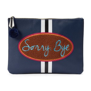 Other Tri-Coastal Design ''Sorry, Bye'' Oversized Pouch Cosmetic Bag Makeup