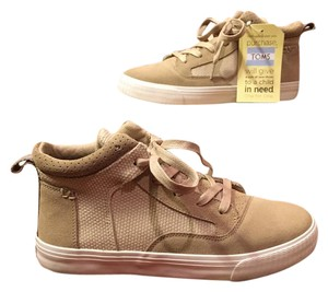 TOMS Sneaker High Top Suede Camila Tan Athletic