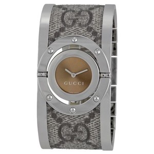 Gucci GUCCI Gucci Twirl Steel/Fabric Ladies Watch YA112425