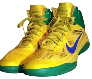Nike yellow and green Athletic