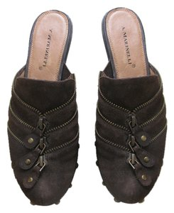 A. Marinelli Brown Pumps