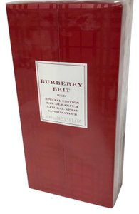 Burberry Brit Perfume special edition Red