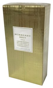 Burberry Brit Perfume special edition Gold perfume
