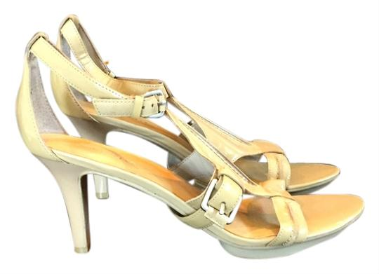 Nine West Nude Platforms
