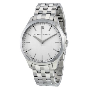 A|X Armani Exchange Men's Diamond Accent Stainless Steel Bracelet Watch