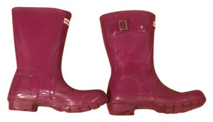 Hunter Cranberry Boots