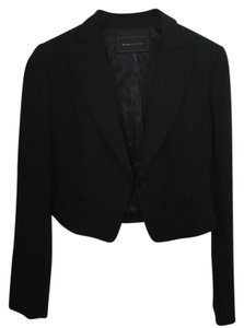 BCBGMAXAZRIA Bcbg Work And White Black Blazer