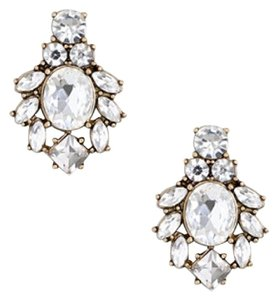 J.Crew NEW!!! Tags J. Crew Floral Crystal Cluster Stud Earrings